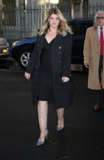 KIRSTIE ALLEY Arrives at The Chew in New York 01/10/2017