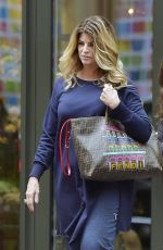 KIRSTIE ALLEY Out in New York 01/12/2017
