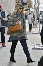 KIRSTIE ALLEY Out in New York 01/13/2017