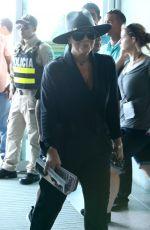 KRIS JENNER Departing Costa Rica 01/30/2017