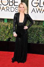 KRISTEN BELL at 74th Annual Golden Globe Awards in Beverly Hills 01/08/2017