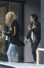 KRISTEN STEWART and STELLA MAXWELL Out and About in Los Angeles 01/04/2017