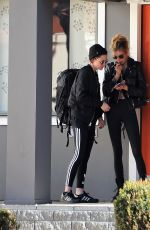 KRISTEN STEWART and STELLA MAXWELL Out in West Hollywood 01/29/2017