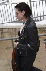 KRISTEN STEWART Out and About in Park City 01/20/2017