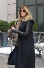 KRISTIE ALLEY Out and About in New York 01/10/2017