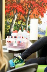 KRISTIN CHENOWETH at a Nail Salon in Beverly Hills 01/04/2017