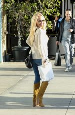 KRISTIN CHENOWETH Out Shopping in Beverly Hills 01/11/2017