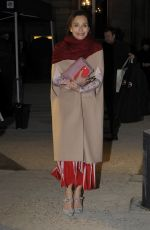KRISTIN SCOTT THOMAS at Valentino Fashion Show at Paris Fashion Week 01/25/2017