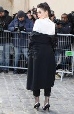KRISTINA BAZAN at Christian Dior Fashion Show in Paris 01/23/2017