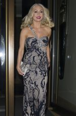 KRISTINA RIHANOFF Arrives at Mayfair Hotel in London 01/22/2017