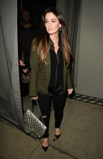 KYLE RICHARDS Leaves a Dinner in West Hollywood 01/06/2017