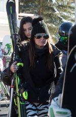 KYLE RICHARDS on Vacation in Aspen 12/26/2016