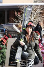 KYLE RICHARDS Out and About in Aspen 12/31/2016