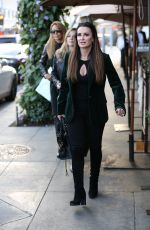KYLE RICHARDS Out for Lunch in Beverly Hills 01/11/2017