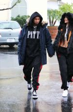 KYLIE JENNER and Tyga Out in Calabasas 11/26/2016