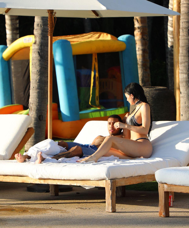 KYLIE JENNER in Bikini in Casa Aramara in Punta Mita 01/03/2017