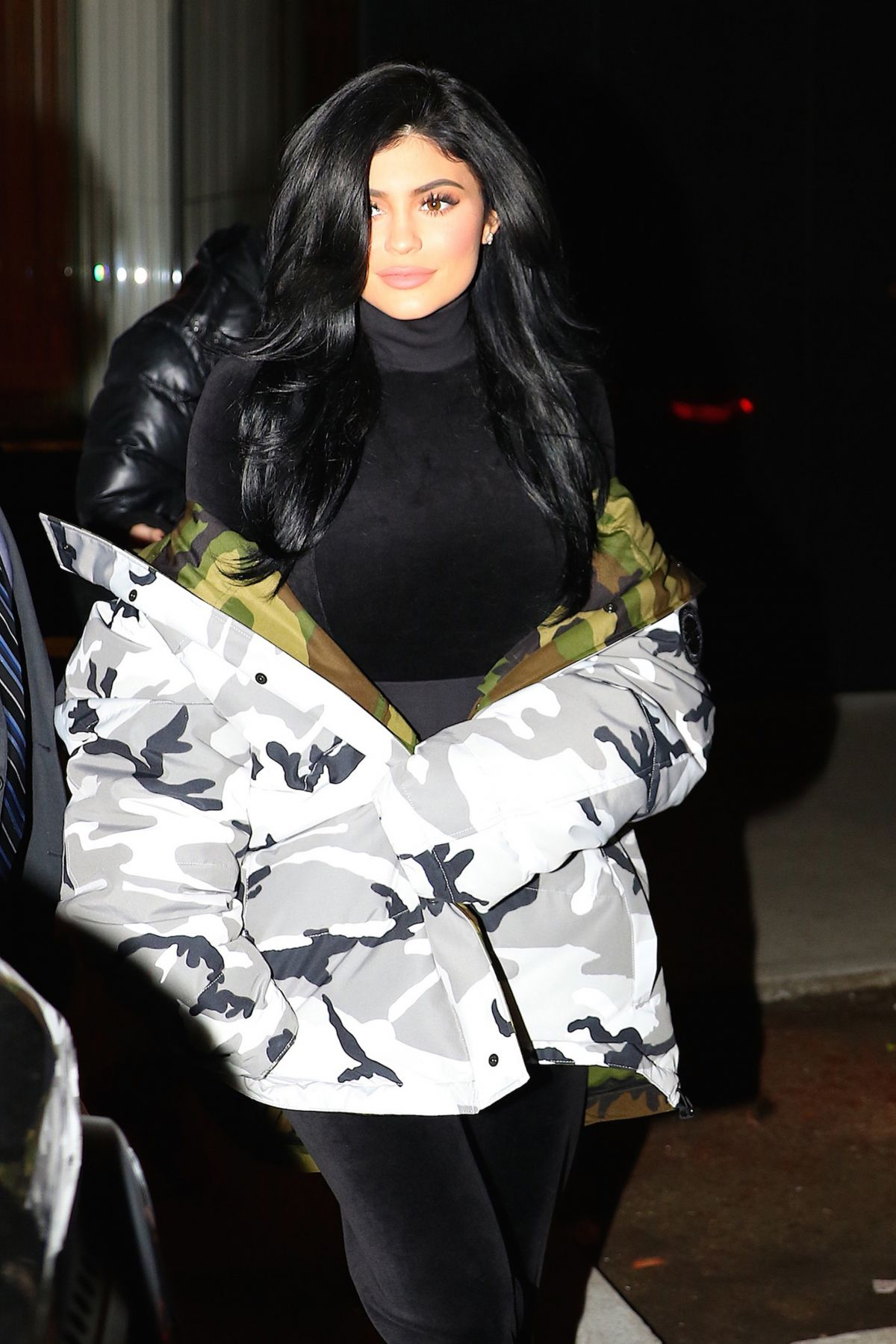 KYLIE JENNER Night Out in New York 01/16/2017