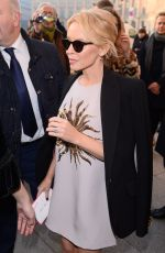 KYLIE MINOGUE Arrives at Schiapparelli Fashion Show in Paris 01/23/2017