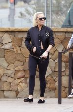 LADY GAGA Out and About in Malibu 01/13/2017
