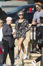 LADY GAGA Out Shopping in Malibu 01/08/2017