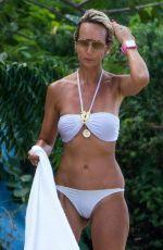 LADY VICTORIA HERVEY in Bikini on the Beach in Barbados 01/01/2017