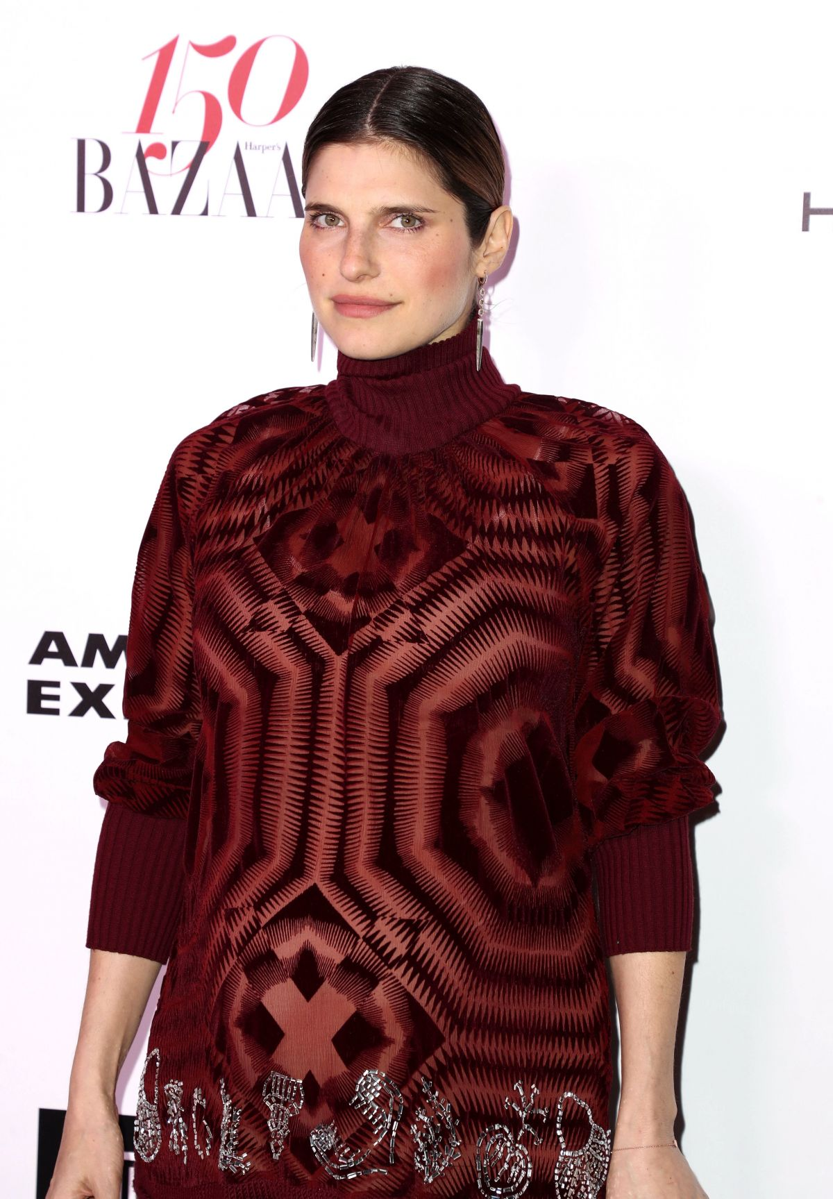 LAKE BELL at Harper's Bazaar 150 Most Fashionable Women Party in Hollywood 01/27/2017