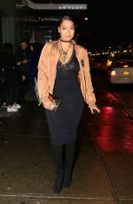 LALA ANTHONY Out in New York 01/10/2017