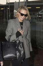 LARA BINGLE at Airport in Sydney 01/30/2017