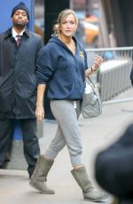 LARA SPENCER Leaves Good Morning America in New York 01/13/2017