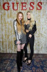 LARSEN THOMPSON at Guess Glitz and Glam Holiday Event in Los Angeles 12/13/2016