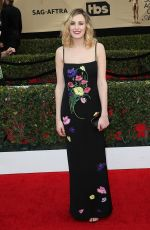 LAURA CARMICHAEL at 23rd Annual Screen Actors Guild Awards in Los Angeles 01/29/2017