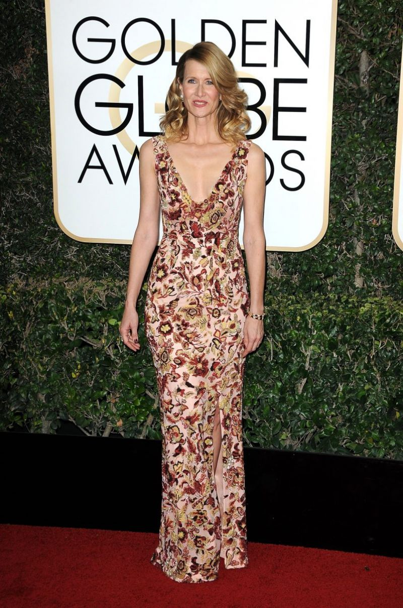 LAURA DERN at 74th Annual Golden Globe Awards in Beverly Hills 01/08/2017