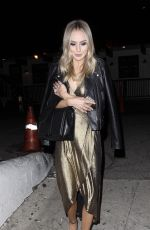 LAUREN BUSHNELL Night Out in Hollywood 01/02/2017