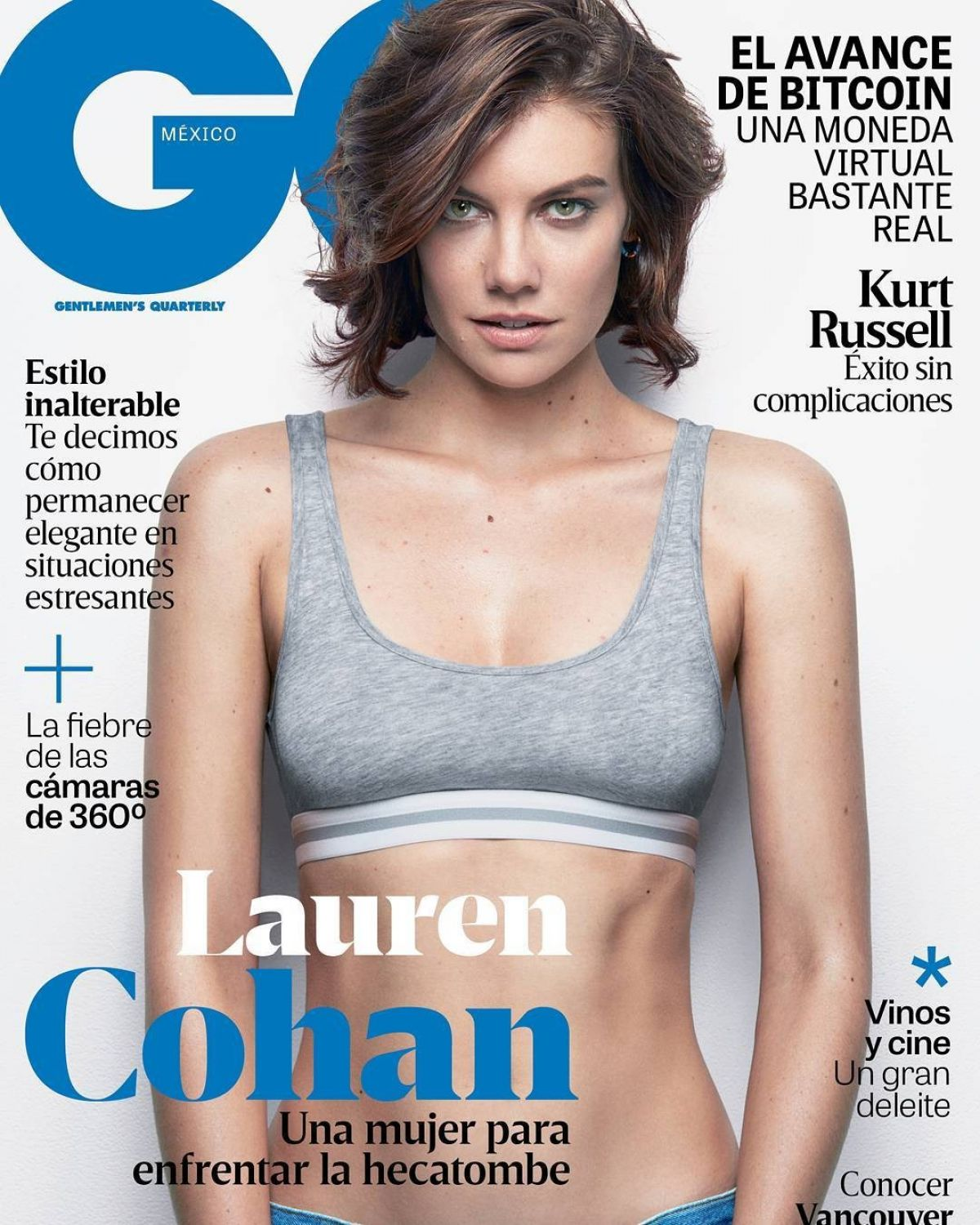 LAUREN COHAN in GQ Magazine, Mexico February 2017