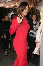 LAVERNE COX at Chateau Marmont in West Hollywood 01/28/2017