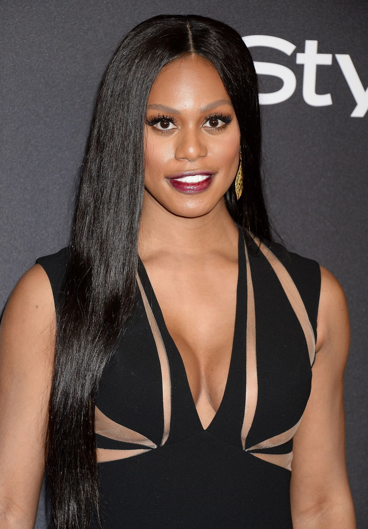 LAVERNE COX at Warner Bros. Pictures & Instyle's 18th Annual Golden Globes Party in Beverly Hills 01/08/2017