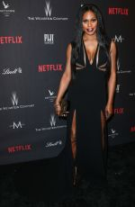 LAVERNE COX at Weinstein Company and Netflix Golden Globe Party in Beverly Hills 01/08/2017