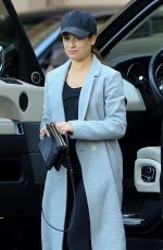LEA MICHELE Arrives at Montage Hotel in Beverly Hills 01/28/2017