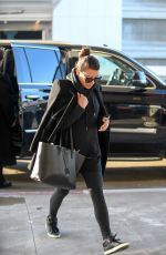 LEA MICHELE at LAX Airport in Los Angeles 01/24/2017