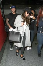 LEA MICHELE at LAX Airport in Los Angeles 01/27/2017