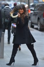 LEA MICHELE Out and About in New York 01/26/2017