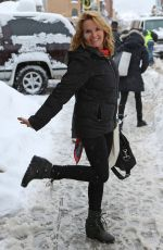 LEA THOMPSON Out in Park City 01/22/2017