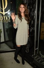 LEILANI DOWDING at Catch LA in West Hollywood 01/16/2017