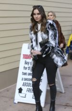 LIANA LIBERATO Out and About in Park City 01/20/2017
