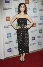 LILY COLLINS at 32nd Annual Artios Awards in Los Angeles 01/19/2017