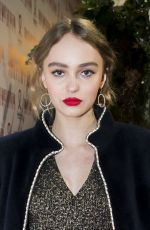 LILY-ROSE DEPP at Sidaction Gala Dinner 2017 in Paris 01/26/2017