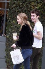 LILY-ROSE DEPP Out for Coffee in West Hollywood 01/03/2017