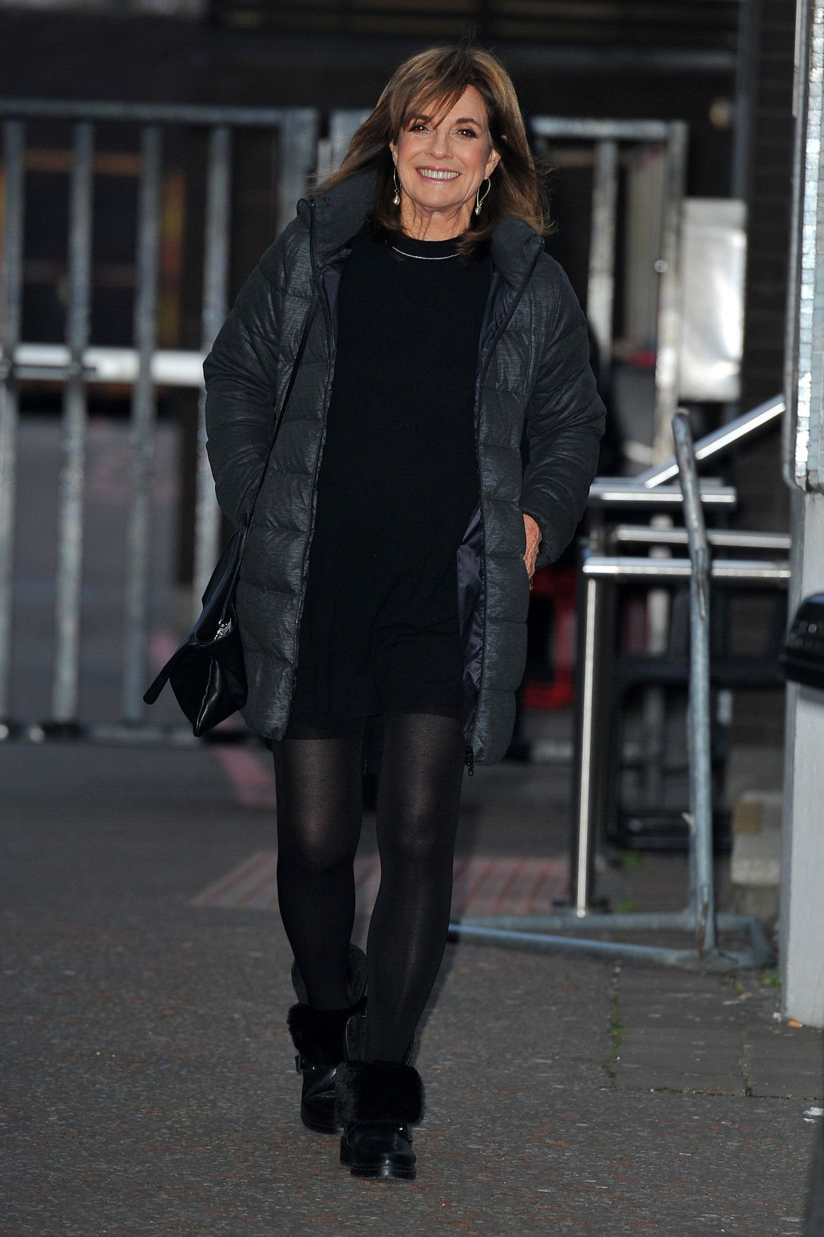 LINDA GRAY at ITV Studios in London 01/12/2017