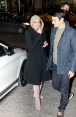 LINDSAY LOHAN Arrives at Her Club in Athens 01/29/2017