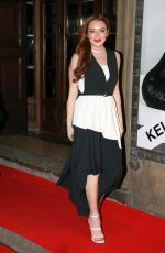 LINDSAY LOHAN at luisaviaroma firenze4ever Fashion, Music and Art in Florence 01/09/2017
